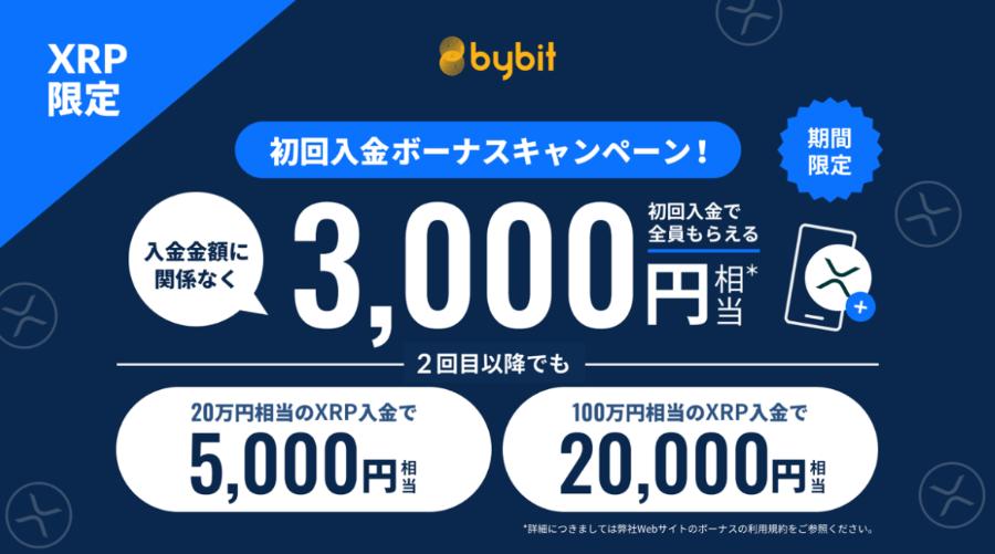 bybit 特別入金ボーナス バイビット