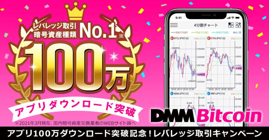 DMMbitcoin レバレッジキャンペーン