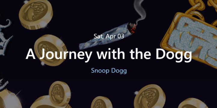 スヌープ・ドッグ NFT A Journey with the Dogg