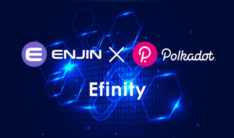Enjin・エンジン|Polkadotで初のNFTブロックチェーンを開発へ