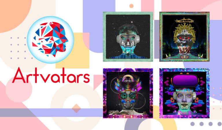 Artvatars|60人のアーティストが作り出すNFTアートの特徴