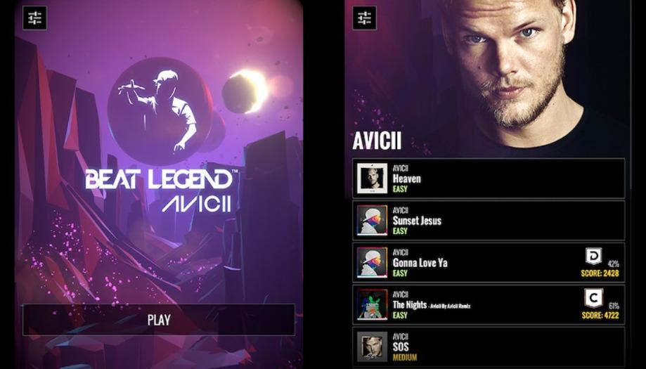 Beat Legend ゲーム画面