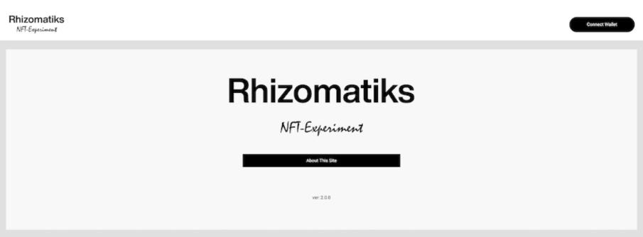 ライゾマティクス ホームページ