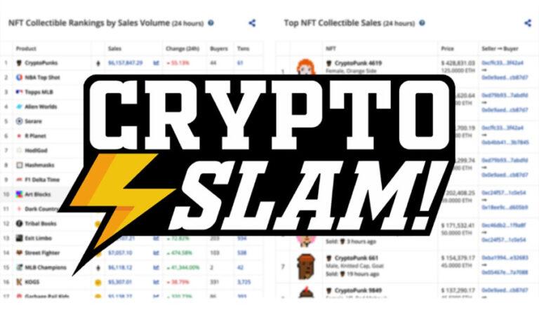 【超便利】CryptoSlam|NFTのデータ閲覧ツールの概要と使い方