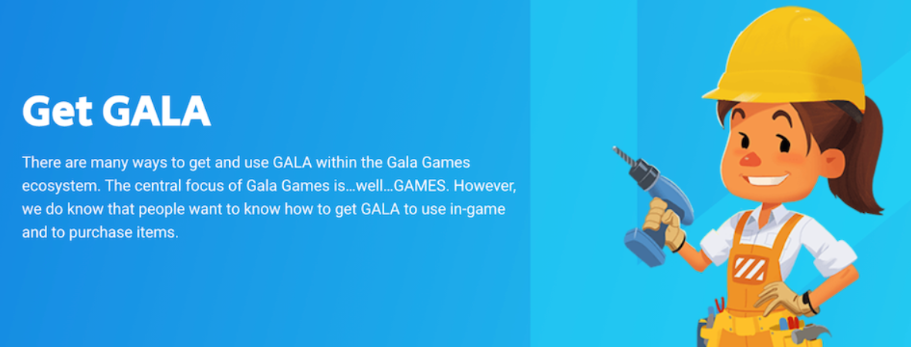 Gala Games Galaトークン