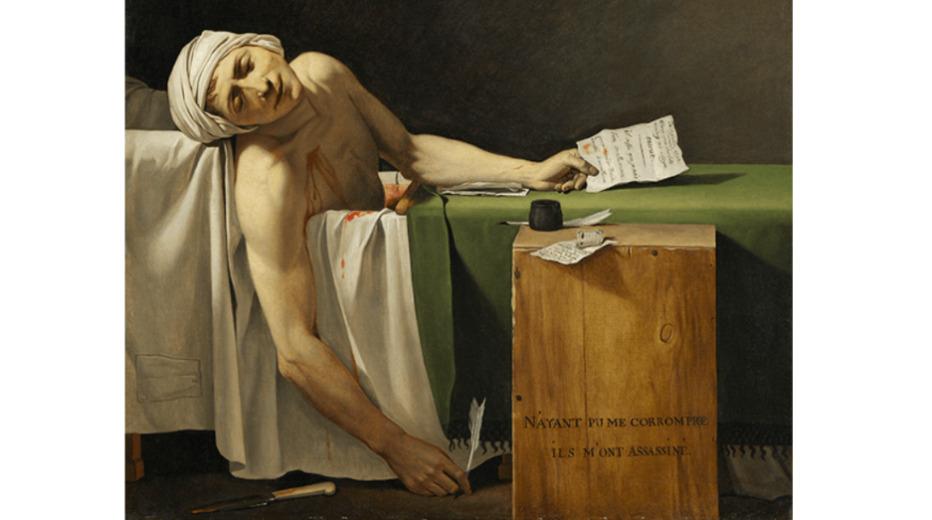 Death of Marat マラーの死
