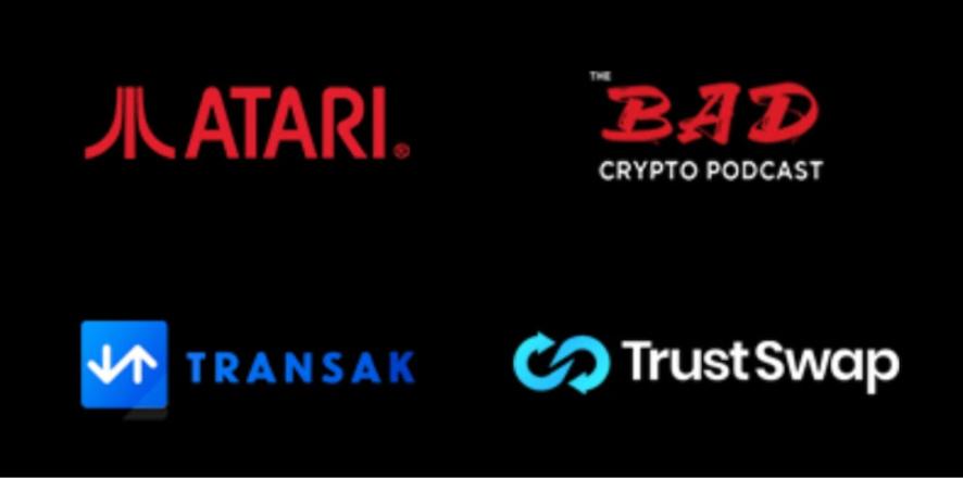 ATARI BAD CryptoPodcast TrustSwap TRANSAK