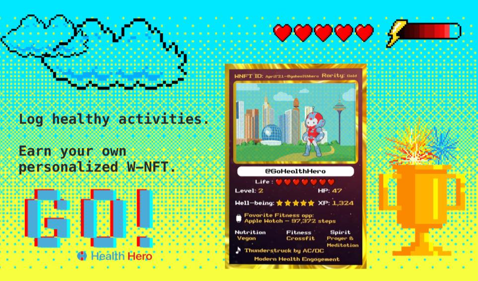 Enjin|Health Heroと提携しNFT活用のウェルネスプログラムを発表