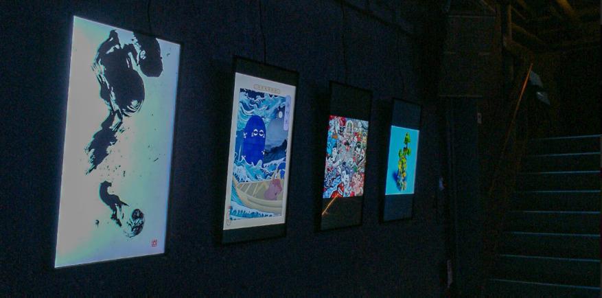 展示アート