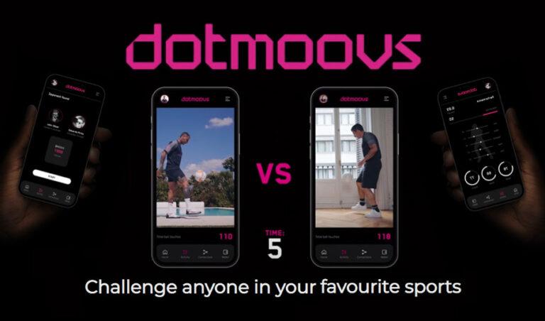 dotmoovs|スポーツスキルで争う対戦型プラットフォームの概要