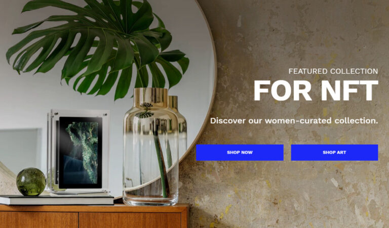 INFINITE OBJECTS NFTを飾るデジタルアートフレームの概要