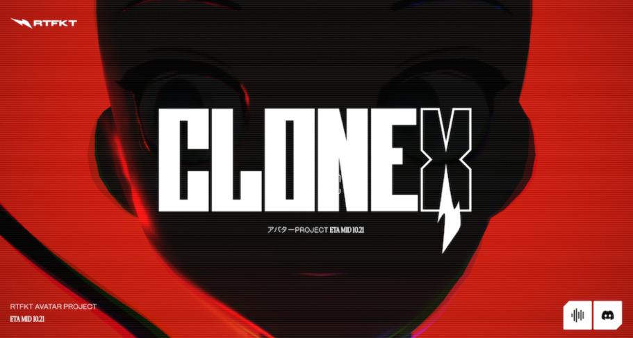 CLONE X ロゴ